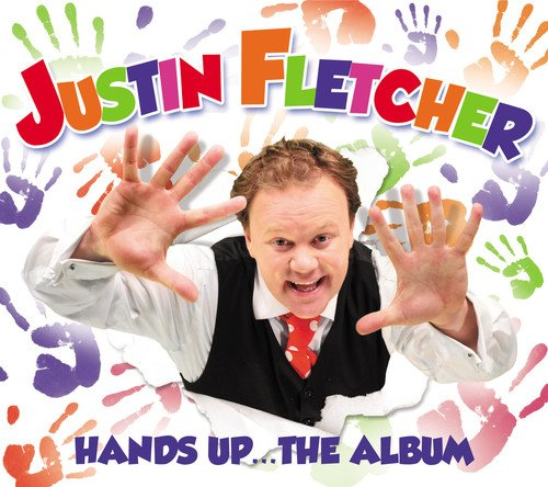 Justin Fletcher (aka Mr Tumble from CBeebies - Hands Up The Album. My littles current favourite